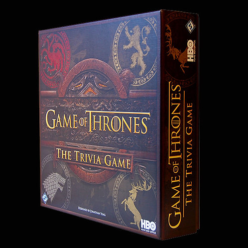 "Official HBO Game of Thrones ""The Trivia Game"" Board game for 2 or more players"