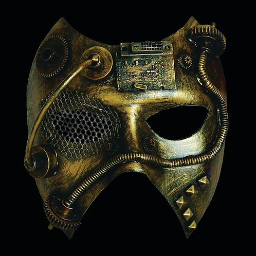 Steam Phantom Mask Hide your identity in Victorian Steampunk Style