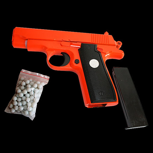 G.2 Airsoft BB Gun Over 18's only orange and black weighty scale model spring air repeater 6mm bb's