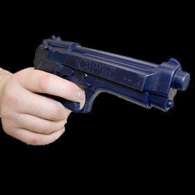 Replica Beretta 92 Series Dense urethane rubber Beretta 92 handgun allows realistic handling
