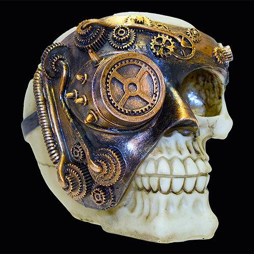 Copper Colour Monocle Man Skull Ultimyth