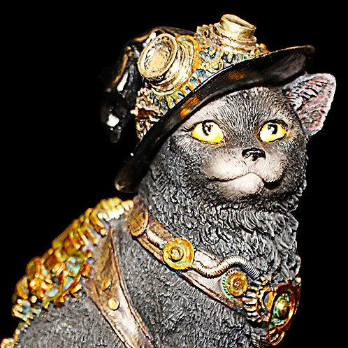 Clockwork Kitty Steampunk