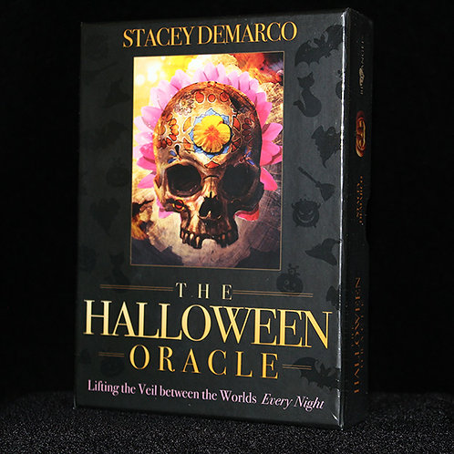 The Halloween Oracle Stacey Demarco 36 beautifully illustrated cards and guide book