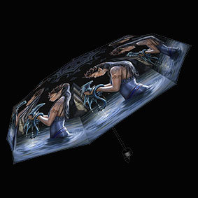 Water Dragon Umbrella mystical mythical fantasy water dragon telescopic umbrella