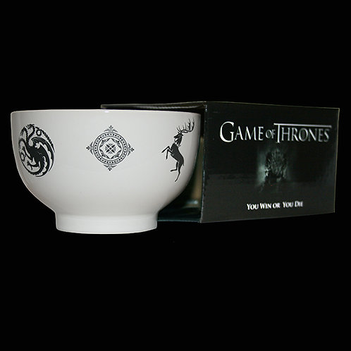 Official HBO Game of Throne Boxed Bowl All Sigils