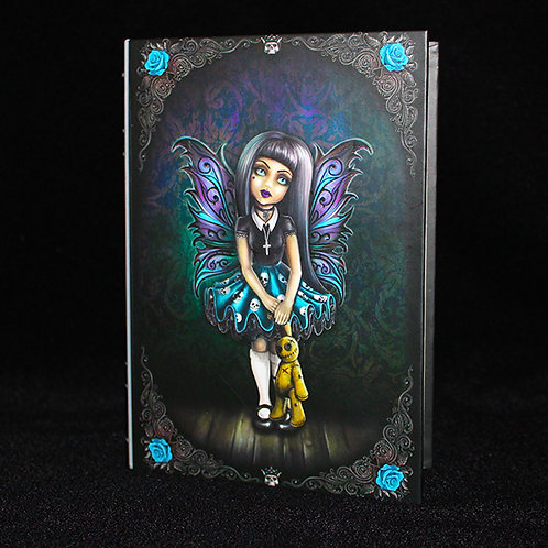 Little Shadows Noire Journal, fairies diary, notebook, blank paged book