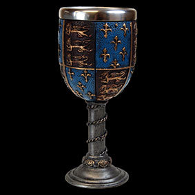 Medieval Goblet removable stainless steel insert for ease of cleaning