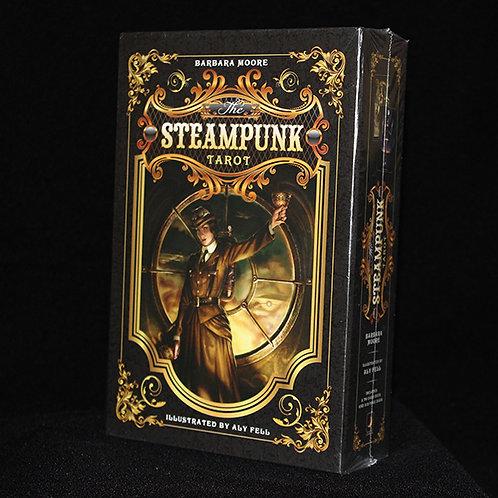 The Steampunk Tarot Cards, Expert Tarot reader Barbara Moore, Artist Aly Fell