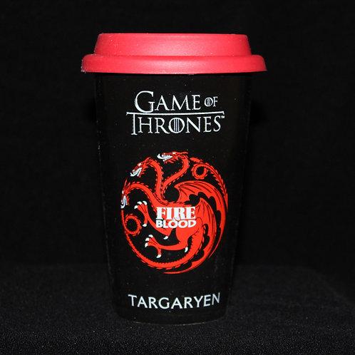 Targaryen Travel Mug, Officially Licenced HBO Game of Thrones Merchandise, Ultimyth Travel Mugs