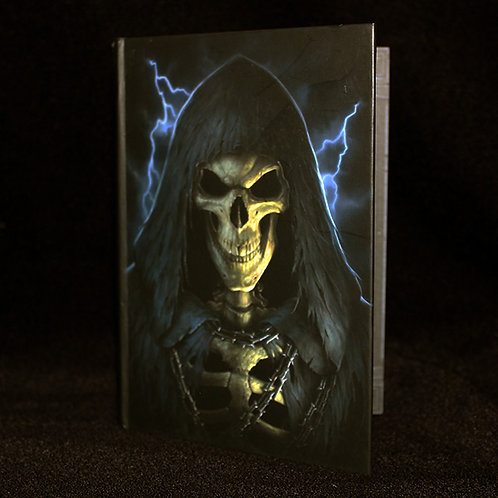 The Reaper Journal, Notebook, diary, blank pages, ribbon bookmark