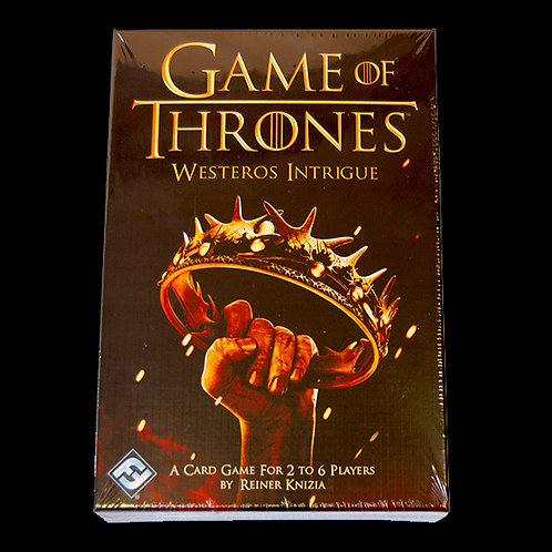 Official HBO Game of Thrones Westeros Intrigue compete for The Iron Throne in this fast fun card game for 2 to 6 players