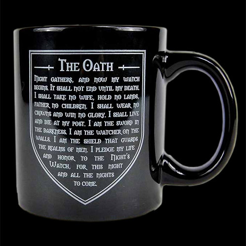Official HBO Game of Thrones The Night's Watch Boxed Mug