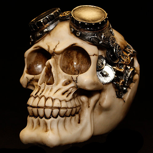 Goggles Steampunk Skull