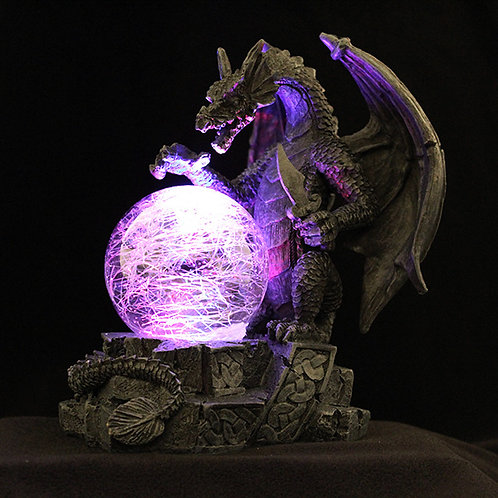 Dragon light up ball battery powered colour changing orb 2 AA batteries Ultimyth