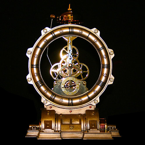 Time Machine Clock Steampunk Ultimyth