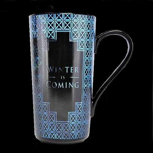 Official HBO Game of Thrones Heat changing latte mug Night King wildlings white walkers nights watch free folk