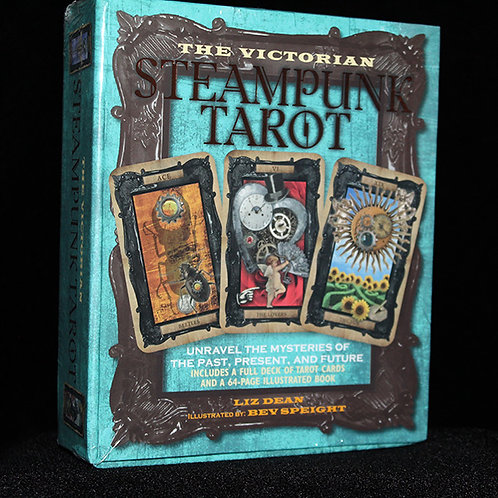 The Victorian Steampunk Tarot cards, 78 cards come complete with guide book