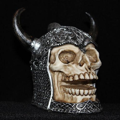 Horned Helmet Skull chainmail horned Celtic helmet Ultimyth