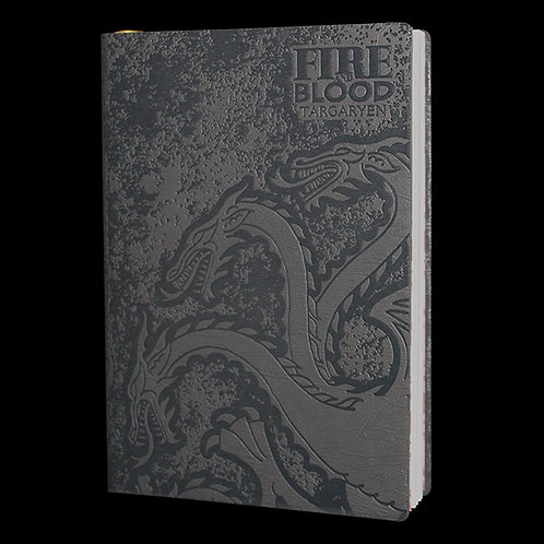 A5 Flexi Notebook Stark and Targaryen, Officially Licensed HBO Game of Thrones Merchandise, Lined Journal Ultimyth