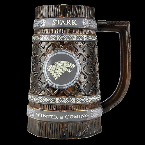 Official HBO Game of Thrones collectable House Stark Stein