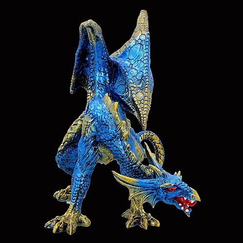 Cobalt Defender Fantasy Dragon
