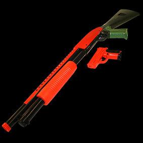 P-799 Shotgun and Pistol 1-1 Scale Airsoft Air Sport Shot Gun
