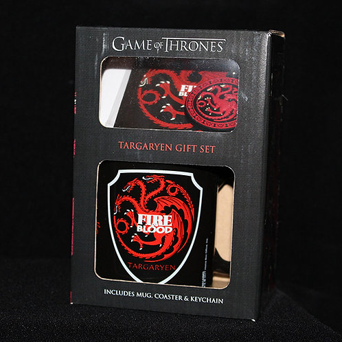 Targaryen Gift Set, Officially Licenced HBO Game of Thrones Merchandise, Presentation boxed GoT Gift Sets Ultimyth