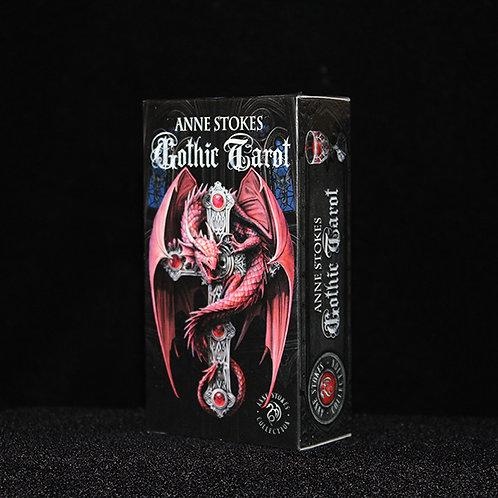 Anne Stokes Gothic Tarot Cards award winning fantasy illustrator Anne Stokes