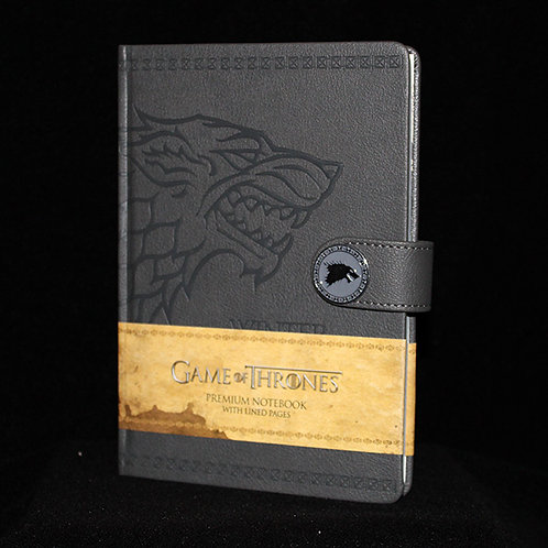 A5 Premium Notebook Stark, Ultimyth Journal, lined pages