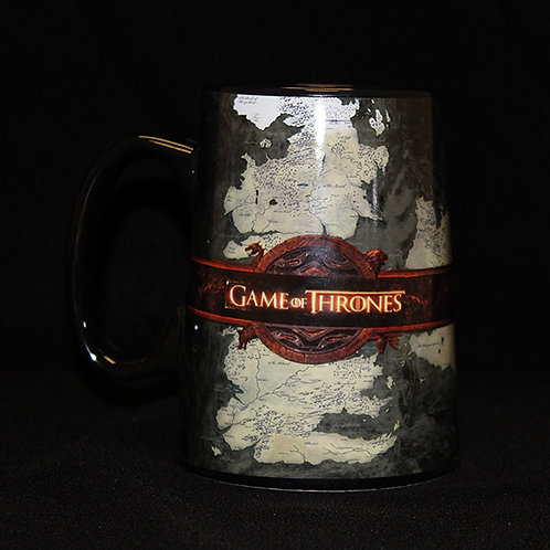 Official HBO Game of Thrones Ceramic Map Tankard