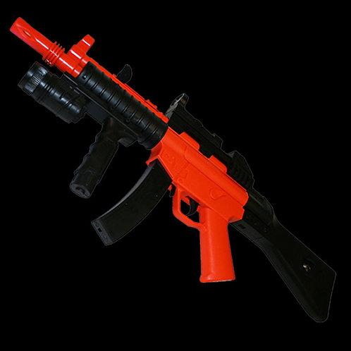 MP5-A5 HY015B orange and black airsoft 6mm BB gun 62 cm long 1:1 scale
