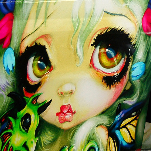 Glass Jewellery box Darling Dragonling by Jasmine Becket-Griffith