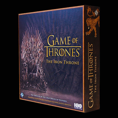 """Official HBO Game of Thrones """"The Iron Throne"""" A game of intrigue and betrayal"""