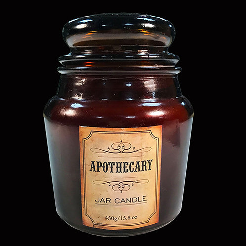 Lavender and Lemongrass Apothecary Candle 60 hour burn time