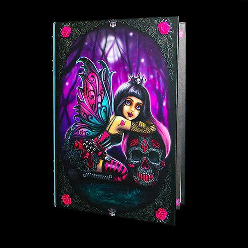 Little Shadows Lolita Journal, fairy diary, Notebook, Embossed Hardback book