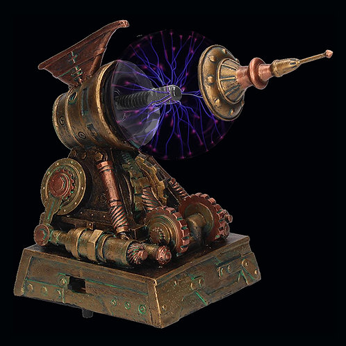 Tesla Machine requires electric globe 4 x AA batteries Nikola Tesla