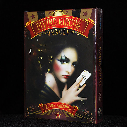 Divine Circus Oracle cards, fortune telling, steampunk, Ultimyth