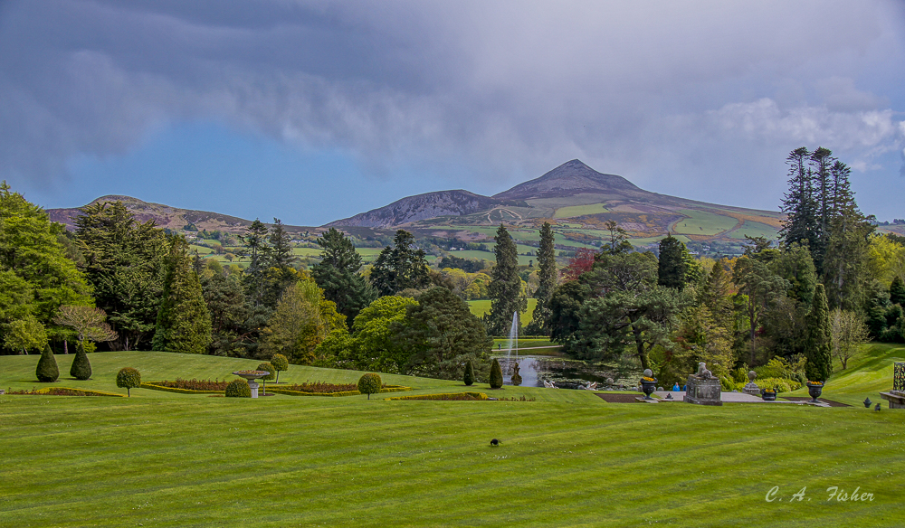 Great Sugarloaf from Powerscourt