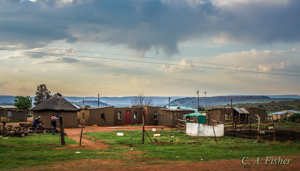 South African Village Compound