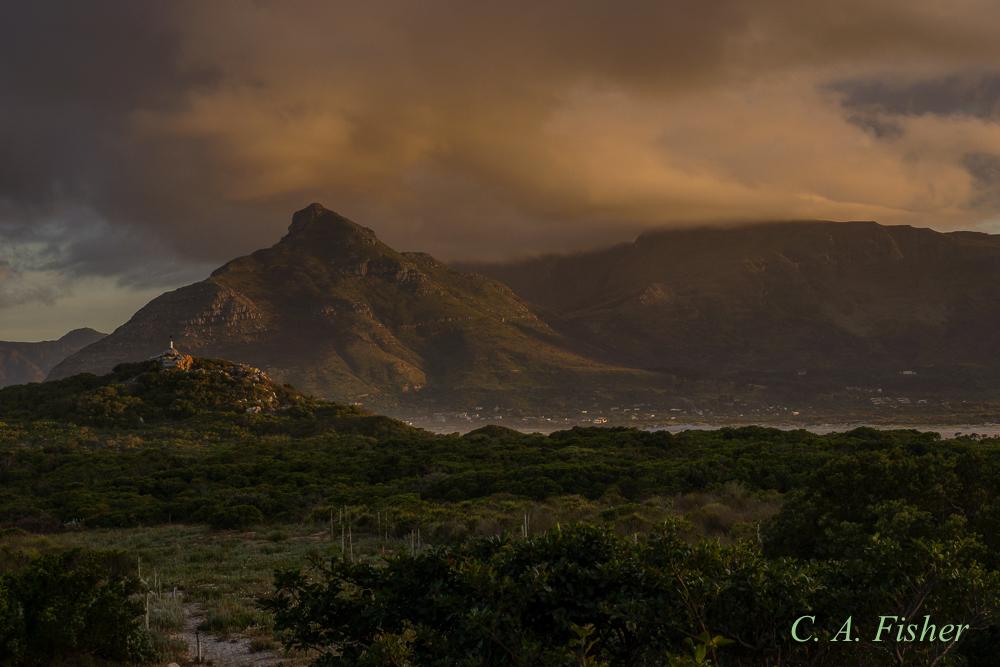 Sunrise at Chapman's Peak