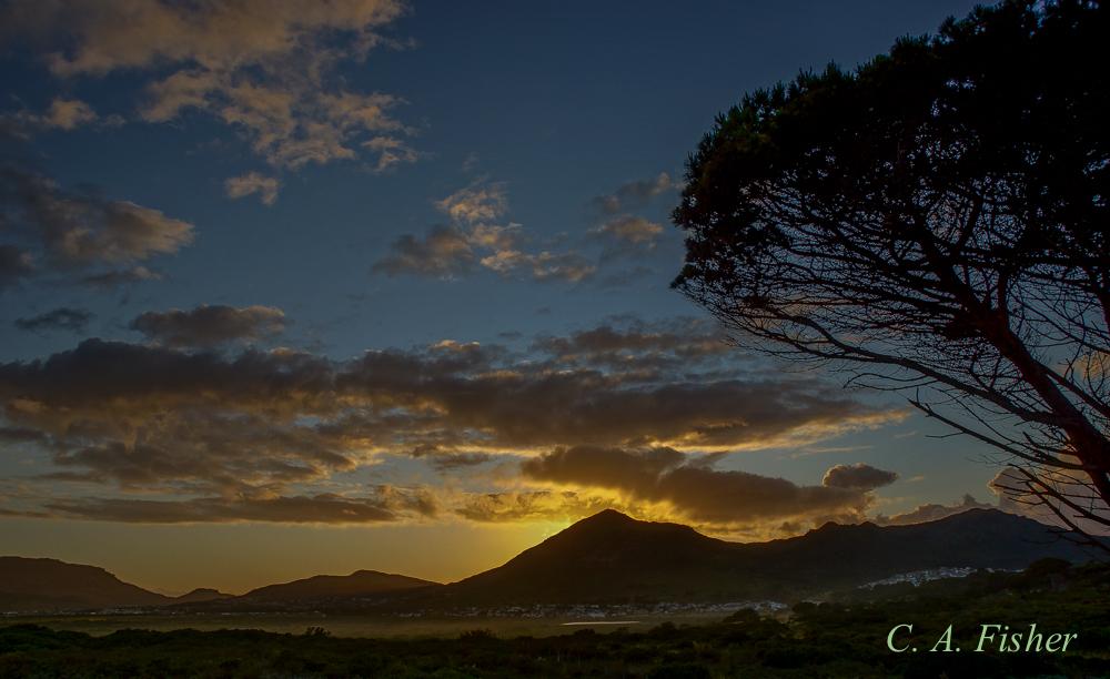 Sunrise over Noordhoek Bay