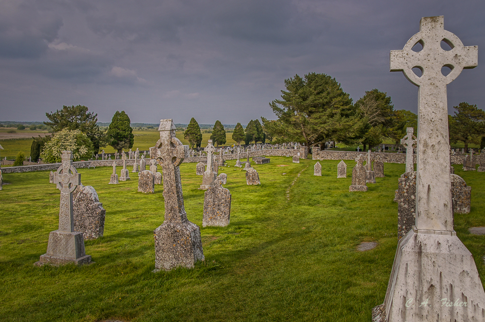 Cemetery at Clanmcnoise
