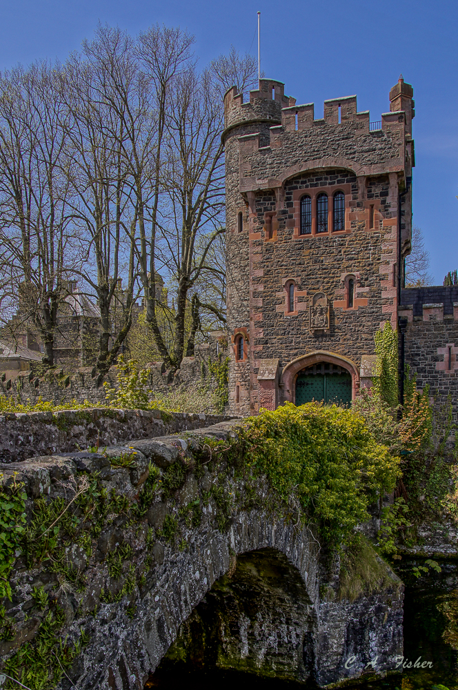 Entrance to Glenarm Castle