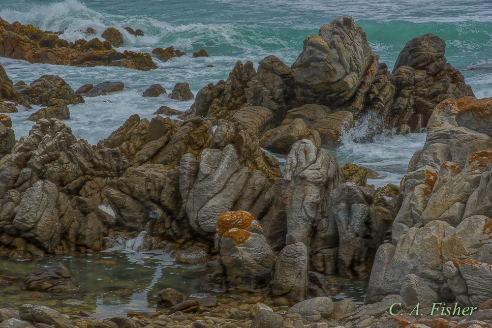 Rock Formations at Cape Agulhas