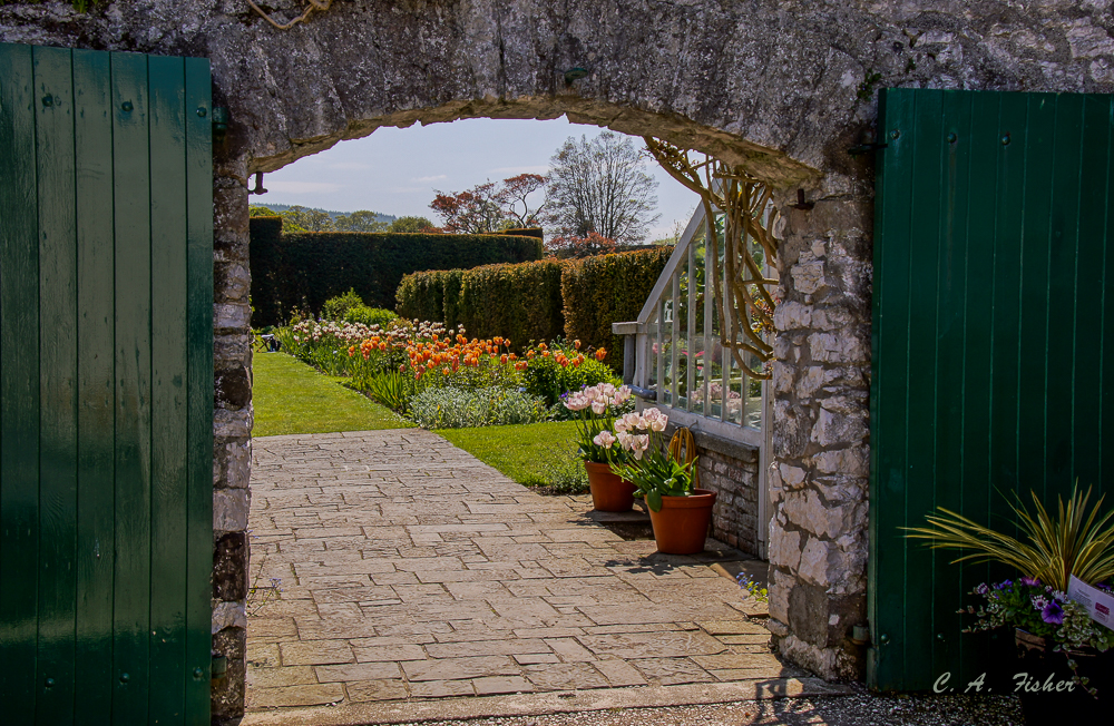 Entrance to Glenarm Castle Gardens