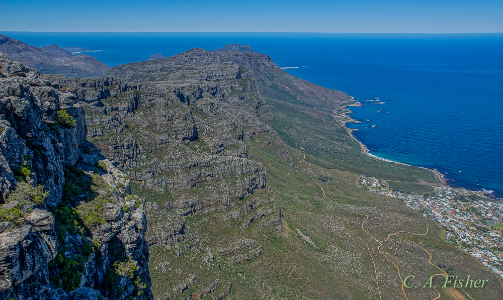 View South from Table Mountain