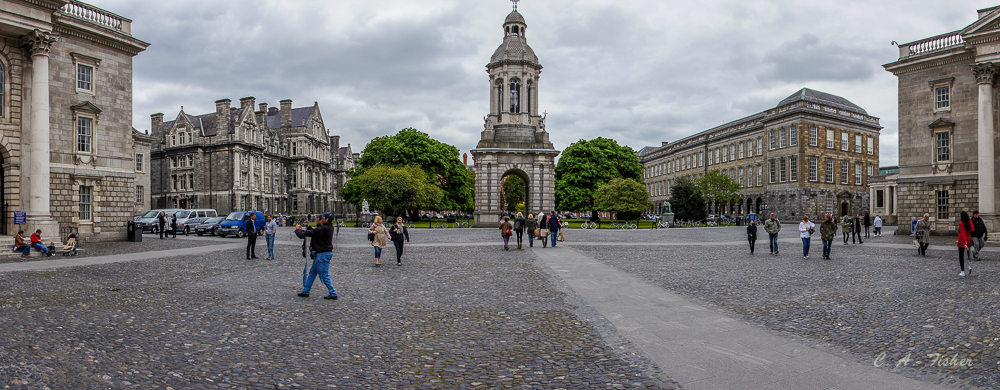 Parliament Square, Trinity College