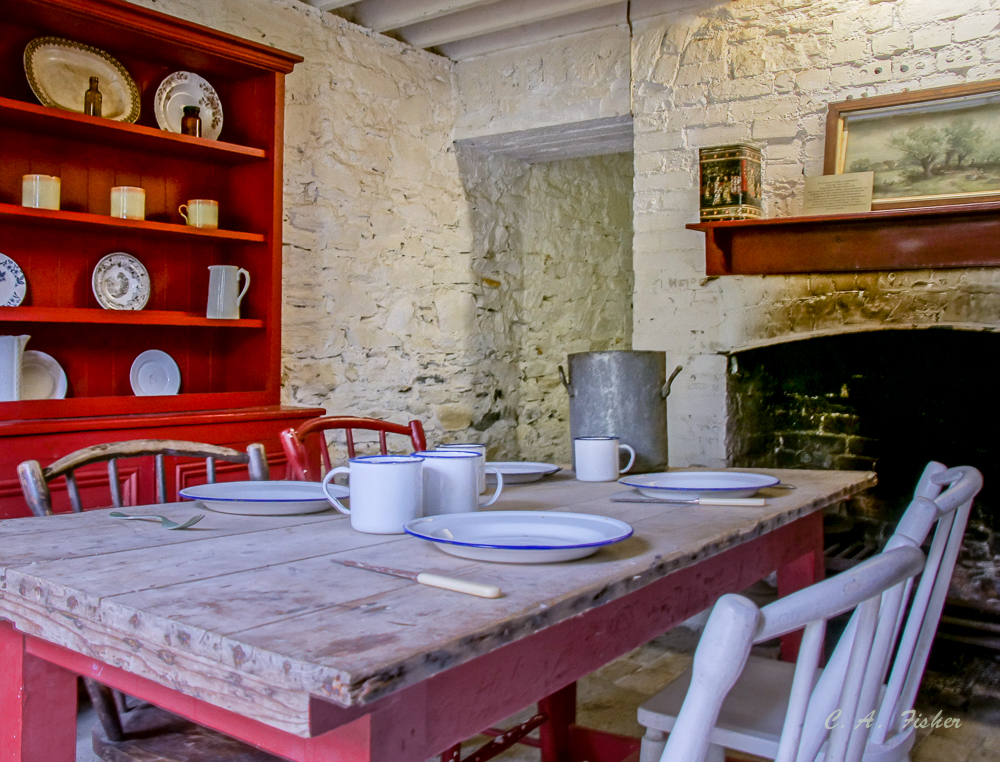 Gardener's Cottage table