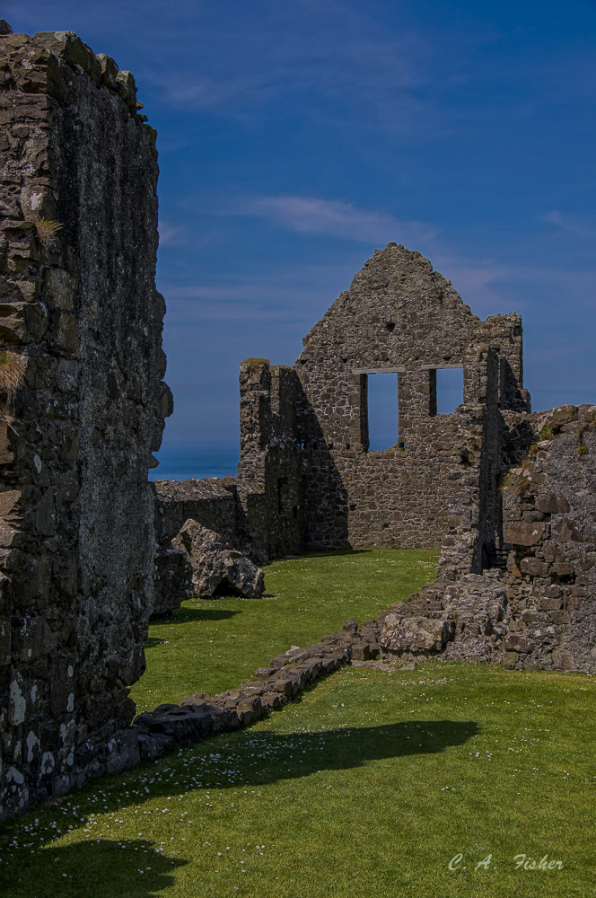 Dunluce Castle Interior