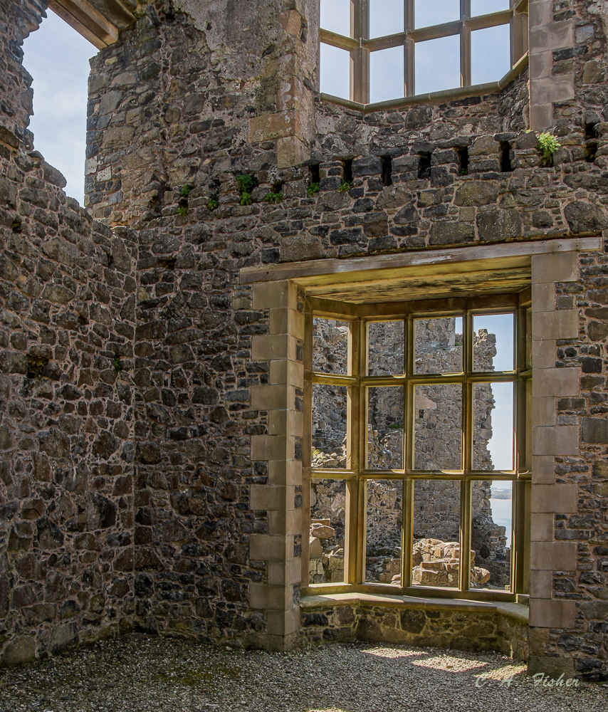 Dunluce Castle Windows